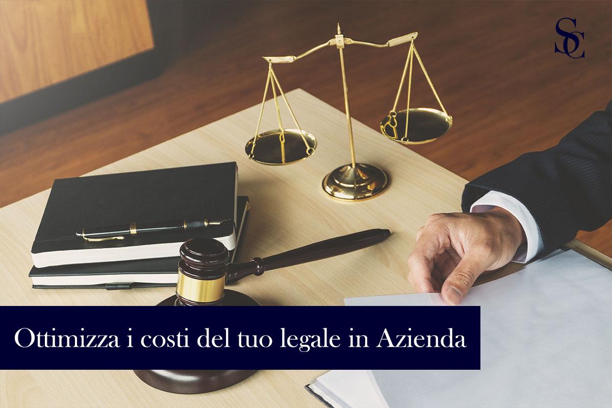 Ottimizza i costi delle procedure legali per la tua azienda!