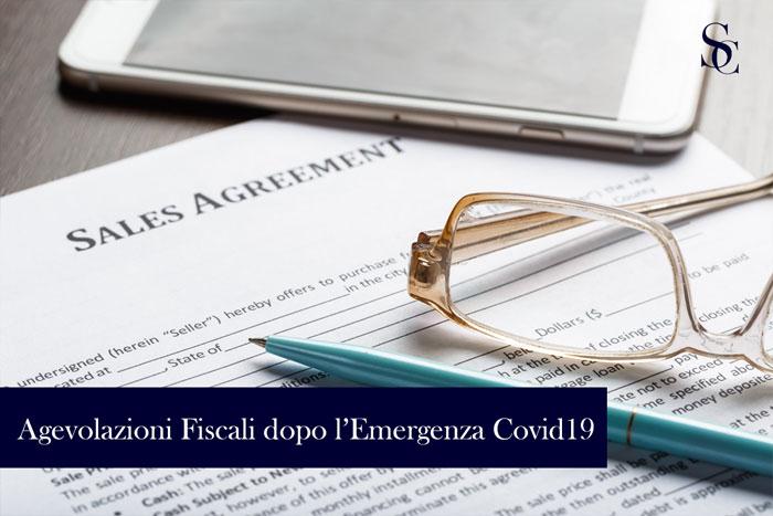 Le nuove agevolazioni fiscali introdotte dopo l'emergenza Covid19
